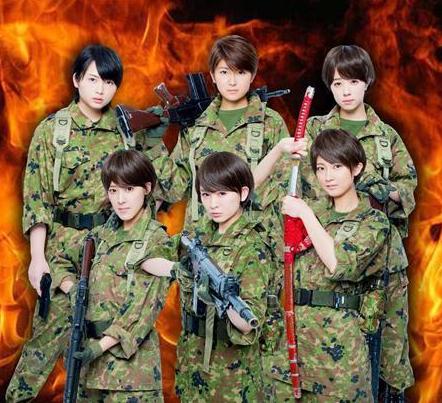Berryz Kobo to star in musical version of 'Sengoku Jieita'i