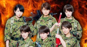 Berryz Kobo to star in musical version of 'Sengoku Jieita'i